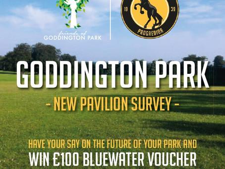 Goddington Park Clubhouse Survey