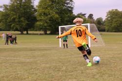 Junior football action