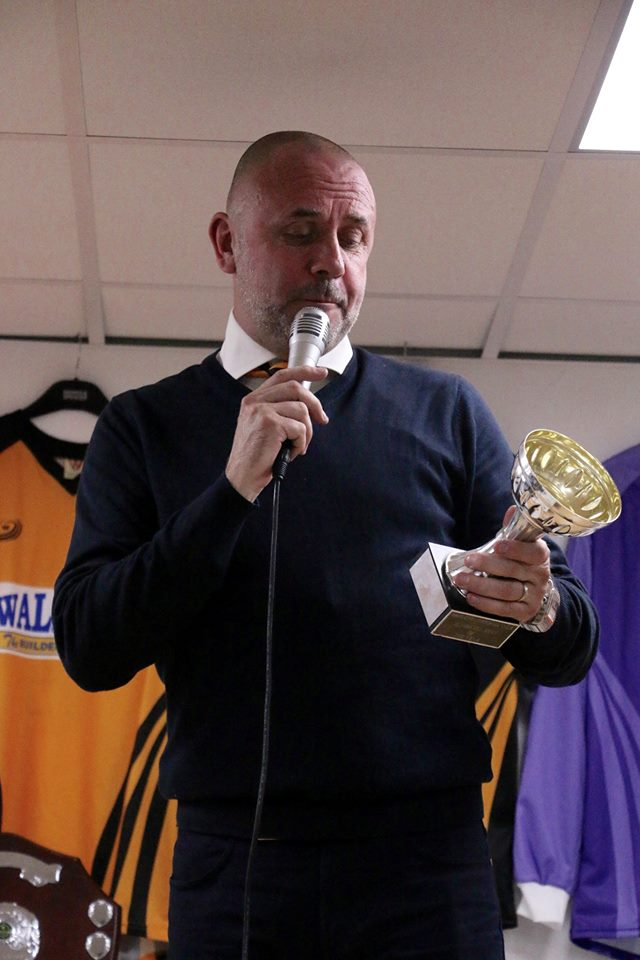Simon Morris - Clubman of the Year