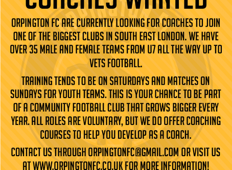 Coaching opportunities available!