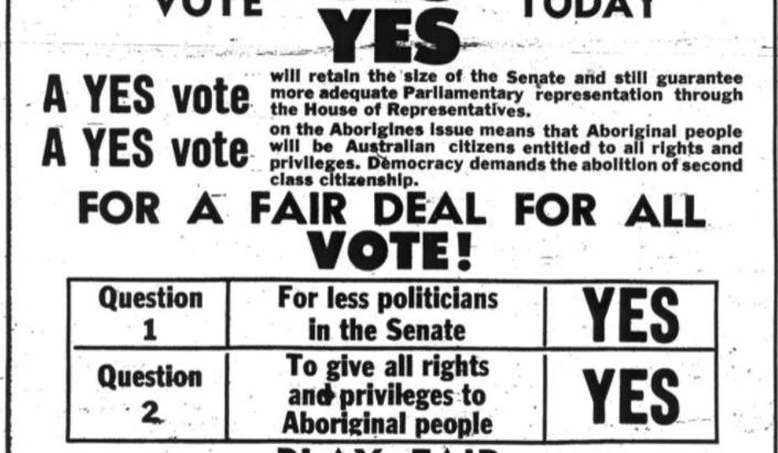 1967 Referendum anniversary