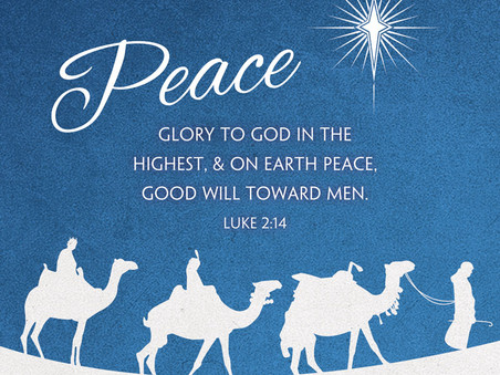 Advent Message:  Peace