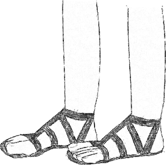 Whose Sandals are You Wearing?  Part Two