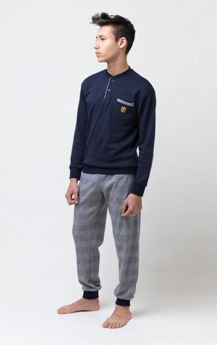 """Alex"", Langarm Pyjama"