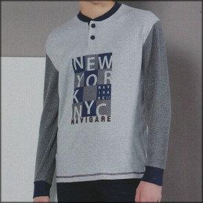 """New York"", Langarm Pyjama"