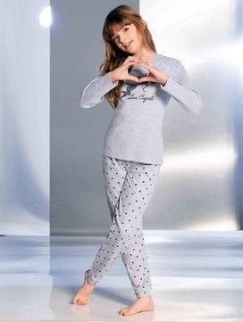 """Cupid"", Lang-Arm Pyjama"
