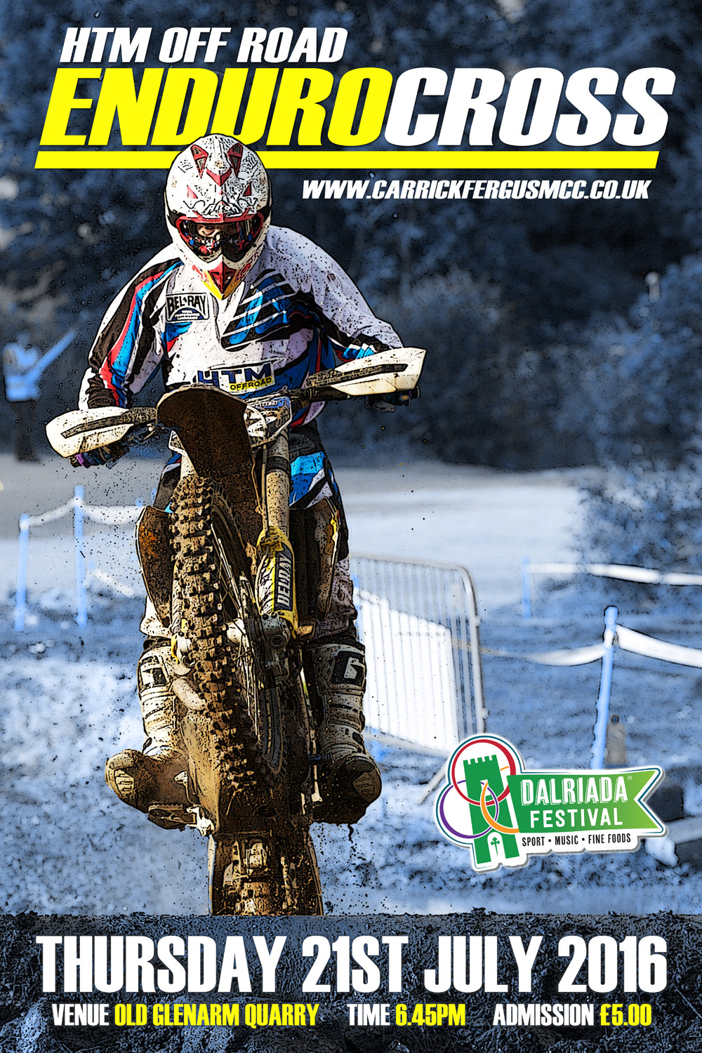 Glenarm EnduroCross 2016 Flyer