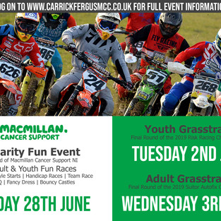 CHARITY FUN EVENT AT GLENO FOR ADULT AND YOUTH THIS FRIDAY NIGHT