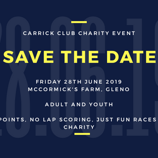 EXTRA DATE ADDED FOR CHARITY GRASSTRACK