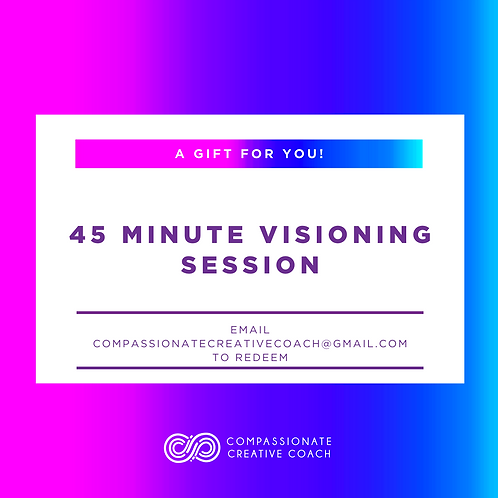 45 Minute Visioning Session