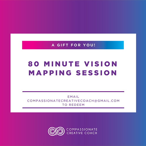 80 Minute Vision Mapping Session