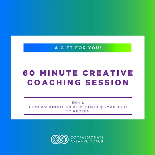 60 Minute Creative Coaching Session