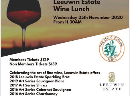 2020 Leeuwin Estate Wine Lunch
