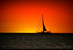 Sunset in Darwin Harbour
