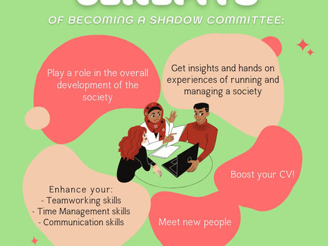 Recruitment for our Shadow Committee 21/22