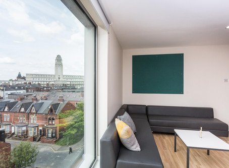 Review on accommodations listed on University of Leeds website.