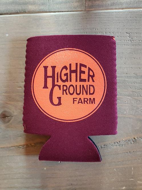 Higher Ground Farm Koozie