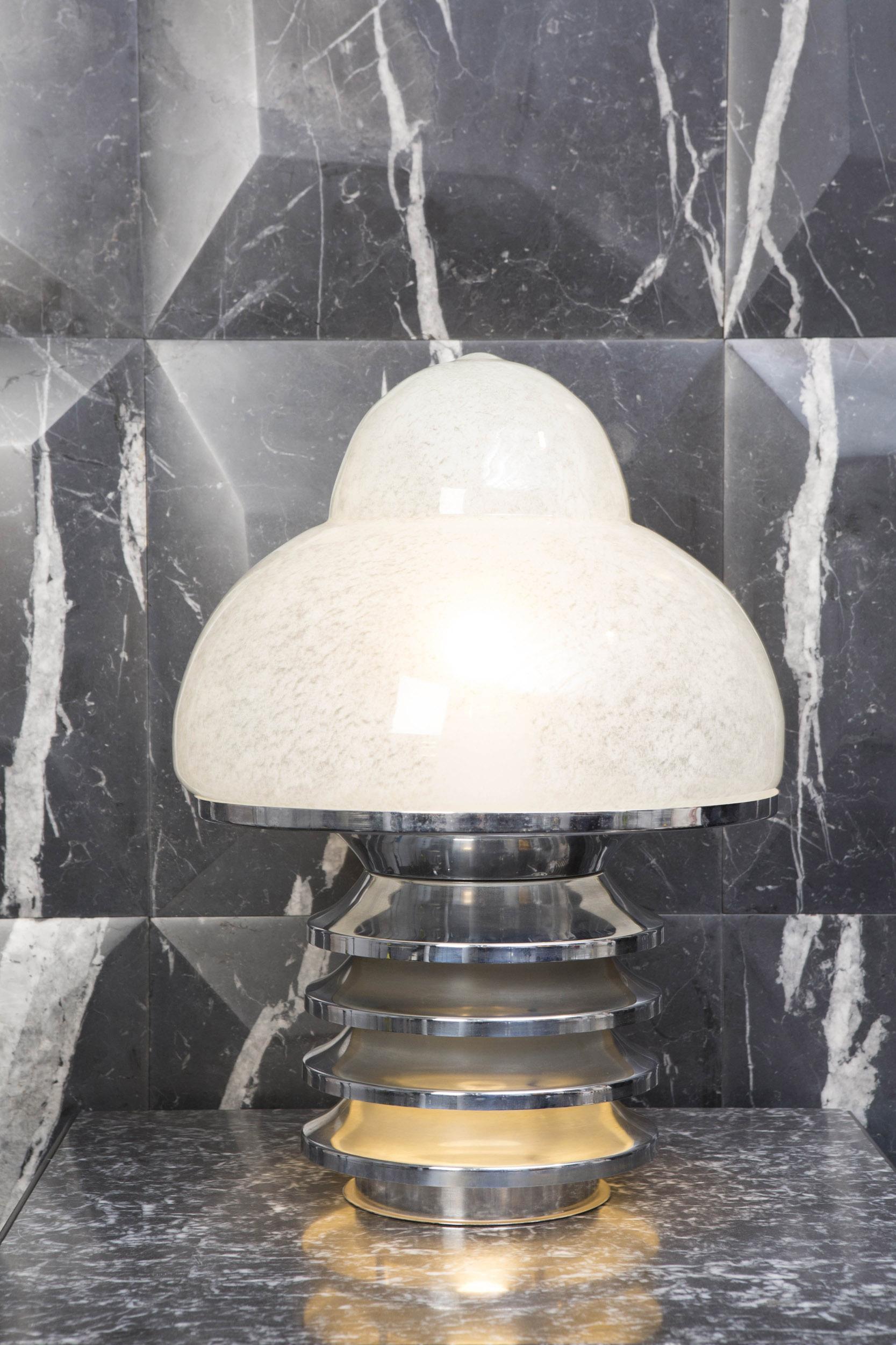 Paire de lampes Mazzega
