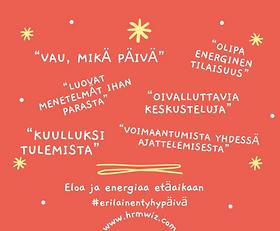 Tiimipäivä - Eloa ja Energiaa Etäaikaan