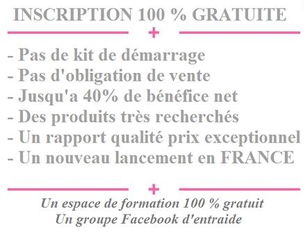 Inscription 100% gratuite
