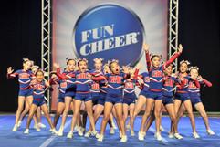 Olympia Hills Cheer Ruff & Tuff Bulldogs