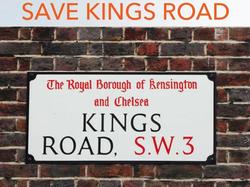 Save Kings Road Chelsea sw3
