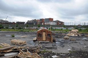 WITTMANN, G. Peace Wall, Belfast. 2013