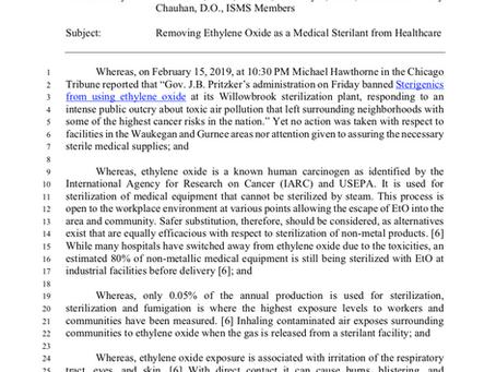 Safer Alternatives to Ethylene Oxide