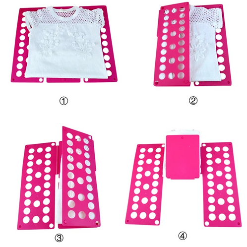 Clothes fold board - Pink