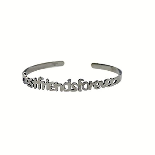 Moonlight Wanderer's Best Friend's Bracelet - Silver