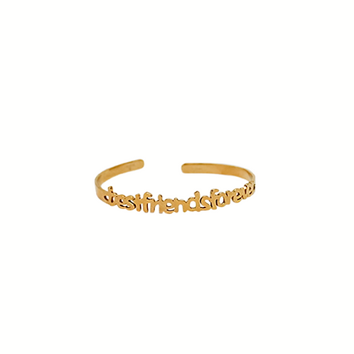 Moonlight Wanderer's Best Friend's Bracelet - Gold