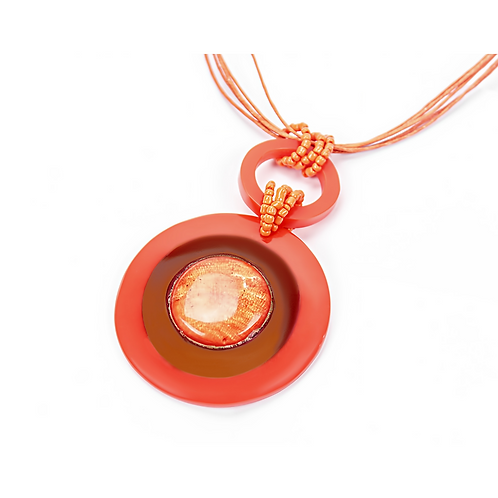 Popsicle Necklace - Orange