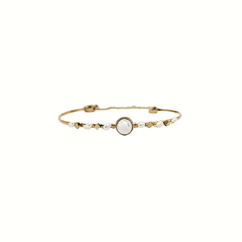 Moonlight Wanderer's Luna Pearl Bracelet