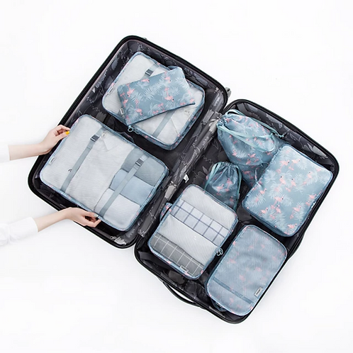 Travel accessories kit - blue