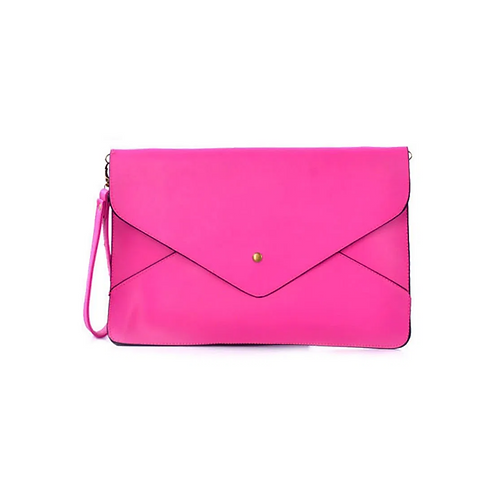 A4 Envelope Clutch - Pink