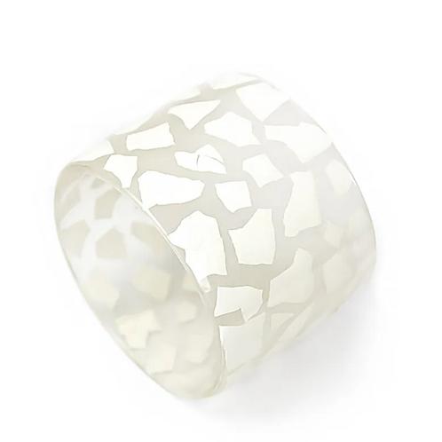 Eggshell Bracelet -  White