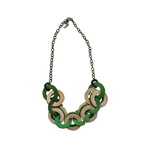 Cocoloco Chain Halskette - Grün