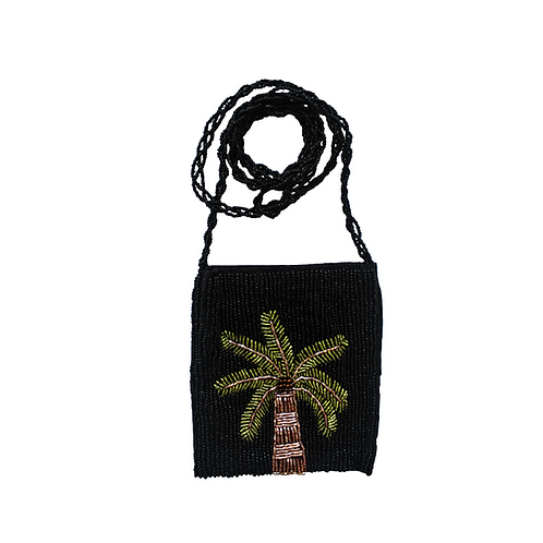 Beaded Crossbody Sling Bag - Coco tree