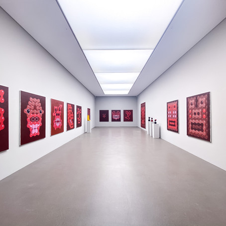 "Best of Anton Bruhin's Art in Canton Uri Museum ""Haus für Kunst"""