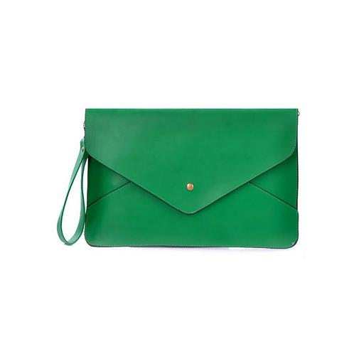 A4 Envelope Clutch - Green