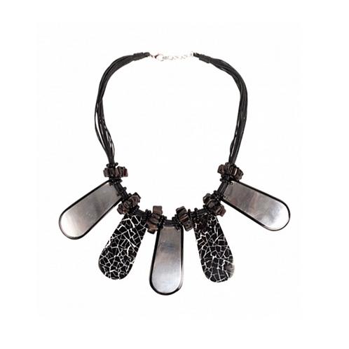 Metalika Necklace - Black