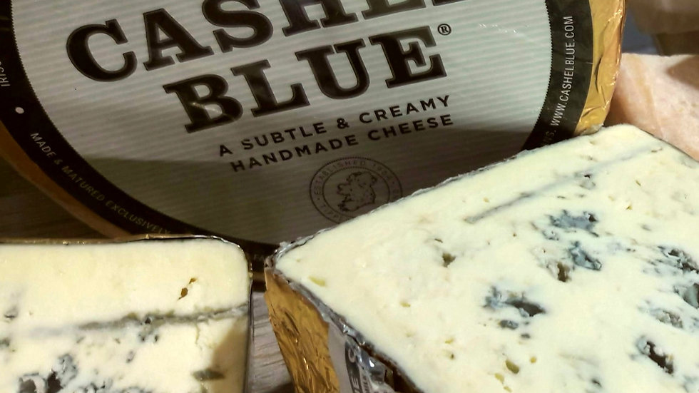 Blue Cheese Foil Wrapped Irish Blue Cheese Cashel Blue Farmhouse Cheese Cut Cheese Soft Blue Cheese