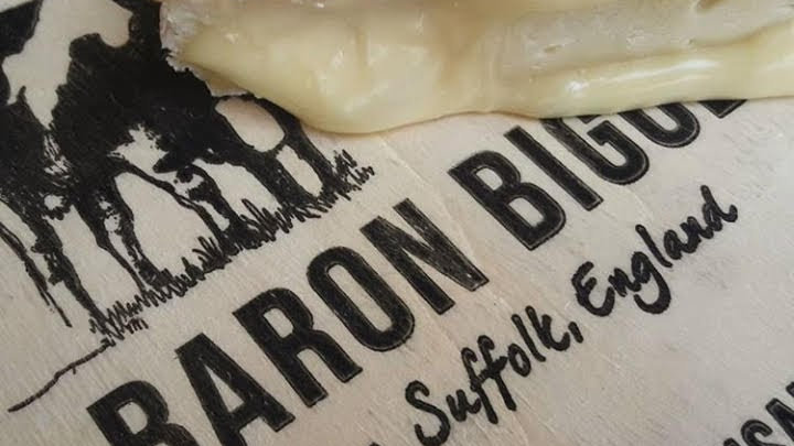 Baron Bigod British Brie Soft Cheese Cut Cheese Raw Milk Unpasteurised Raw Milk Brie