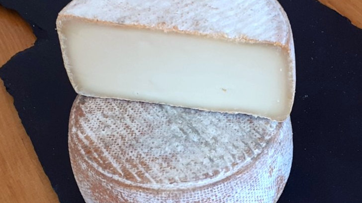 French Semisoft Sheep's Milk Cheese Occitane Ewe's Milk Cheese with Rustic Rind Raw Milk Unpasteurised Cheese