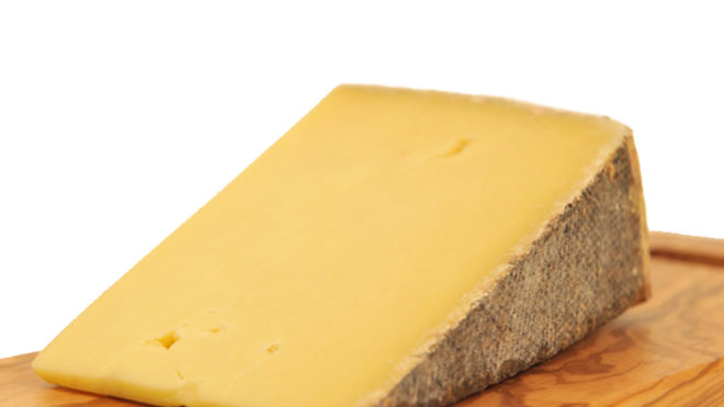 Traditional Cheddar Lincolnshire Poacher Cheese Hard Strong Yellow Cheese Brown Rind