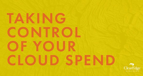 Taking Control of Your Cloud Spend