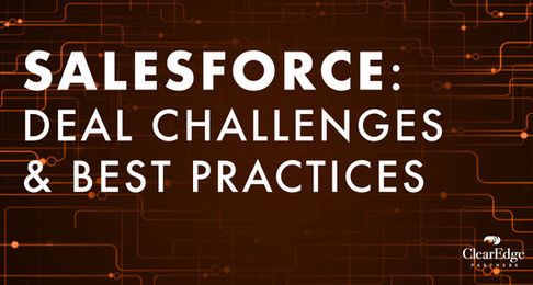 Salesforce: Deal Challenges and Best Practices