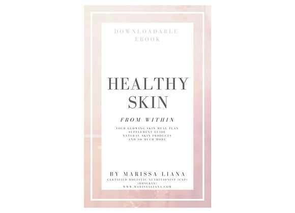 Healthy Skin From Within Ebook