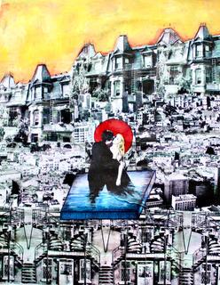 "Dolce Vita. acrylic on canvas. 25""x37"".jpeg"