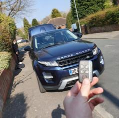 Range Rover Evoque L538 Lost Keys Programming